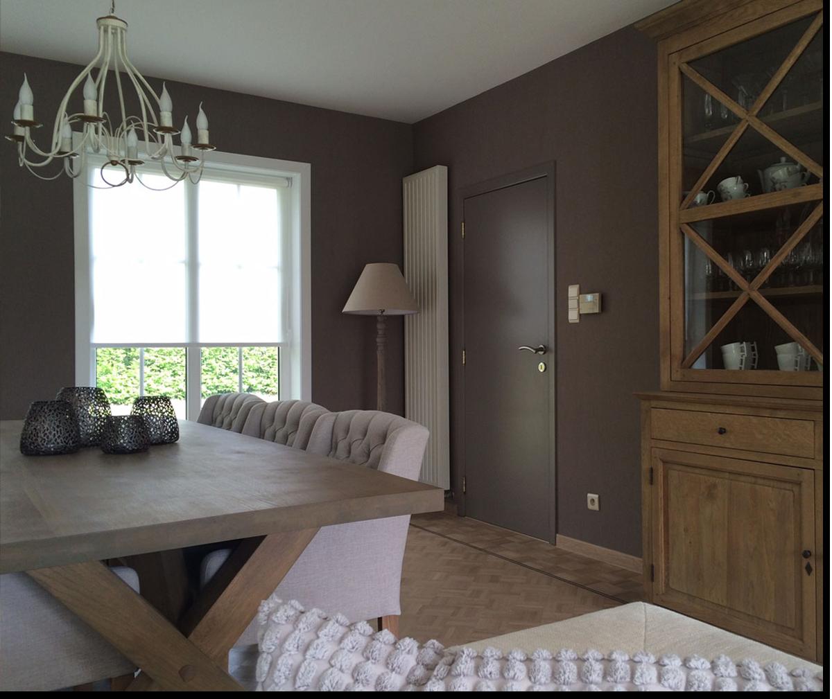 Project astene deinze landelijke stijl dekeyser for Kleuren woonkamer landelijk